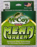 MCCOY FISHING LINES - COPOLYMER - MCCOY-COPOLY-250-GRN-15LB - MEAN GREEN