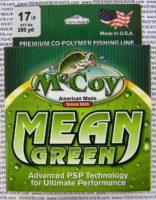 MCCOY FISHING LINES - COPOLYMER - MCCOY-COPOLY-250-GRN-17LB - MEAN GREEN