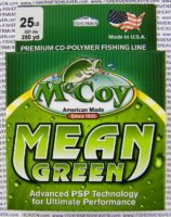 MCCOY FISHING LINES - COPOLYMER - MCCOY-COPOLY-250-GRN-25LB - MEAN GREEN