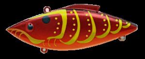 Rat-L-Trap - Crankbait Lipless Rattle Trap Mini MT - MT587 - RAYBURN RED CRAW