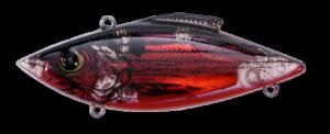 Rat-L-Trap Crankbait Lipless Rattle – Mini 2.5 Inch - MTL6 – LECTRIC RED SHAD,