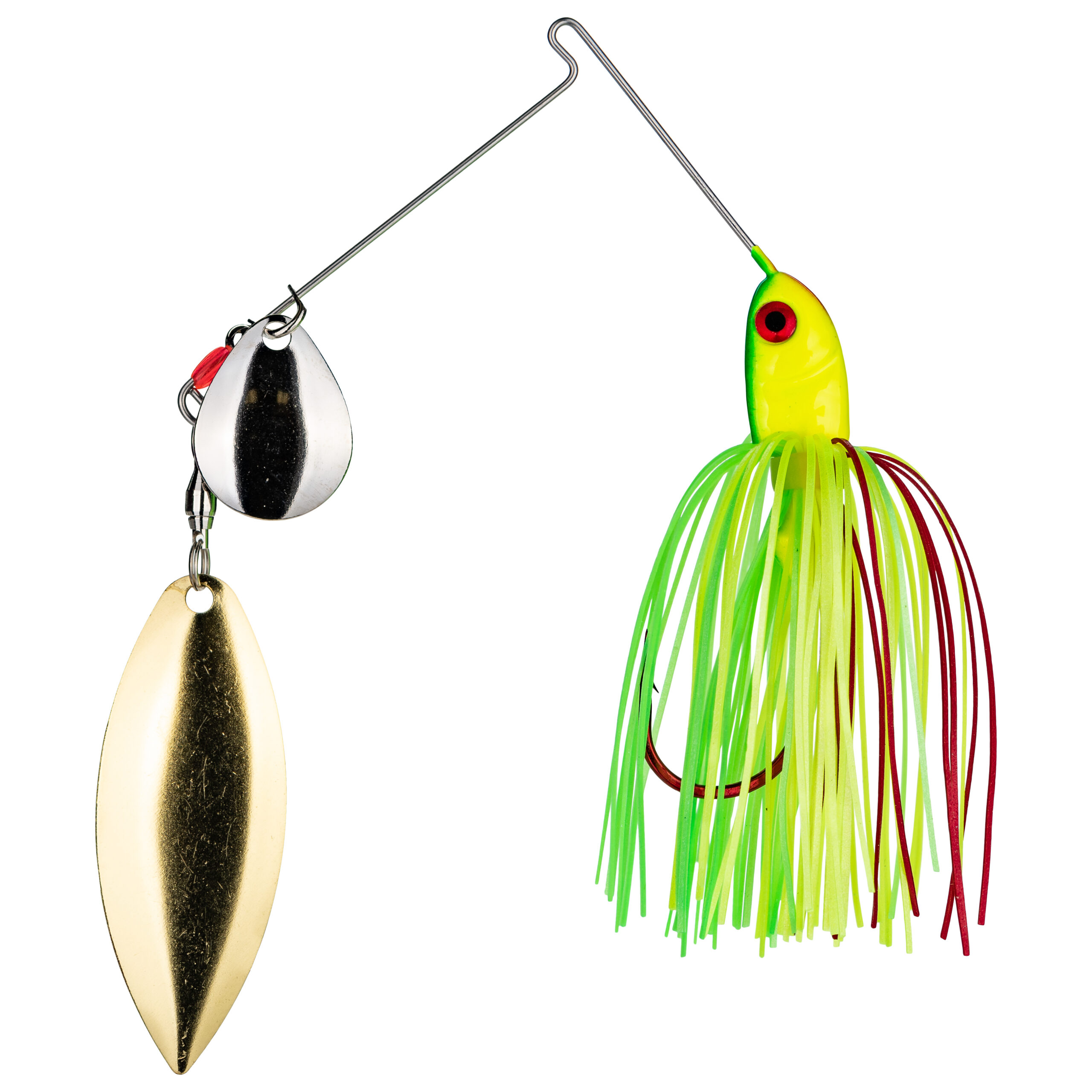 Strike King Lures – Spinnerbaits – Colorado Willow - 3/8oz - BB38CW-317SG - Fire Tiger