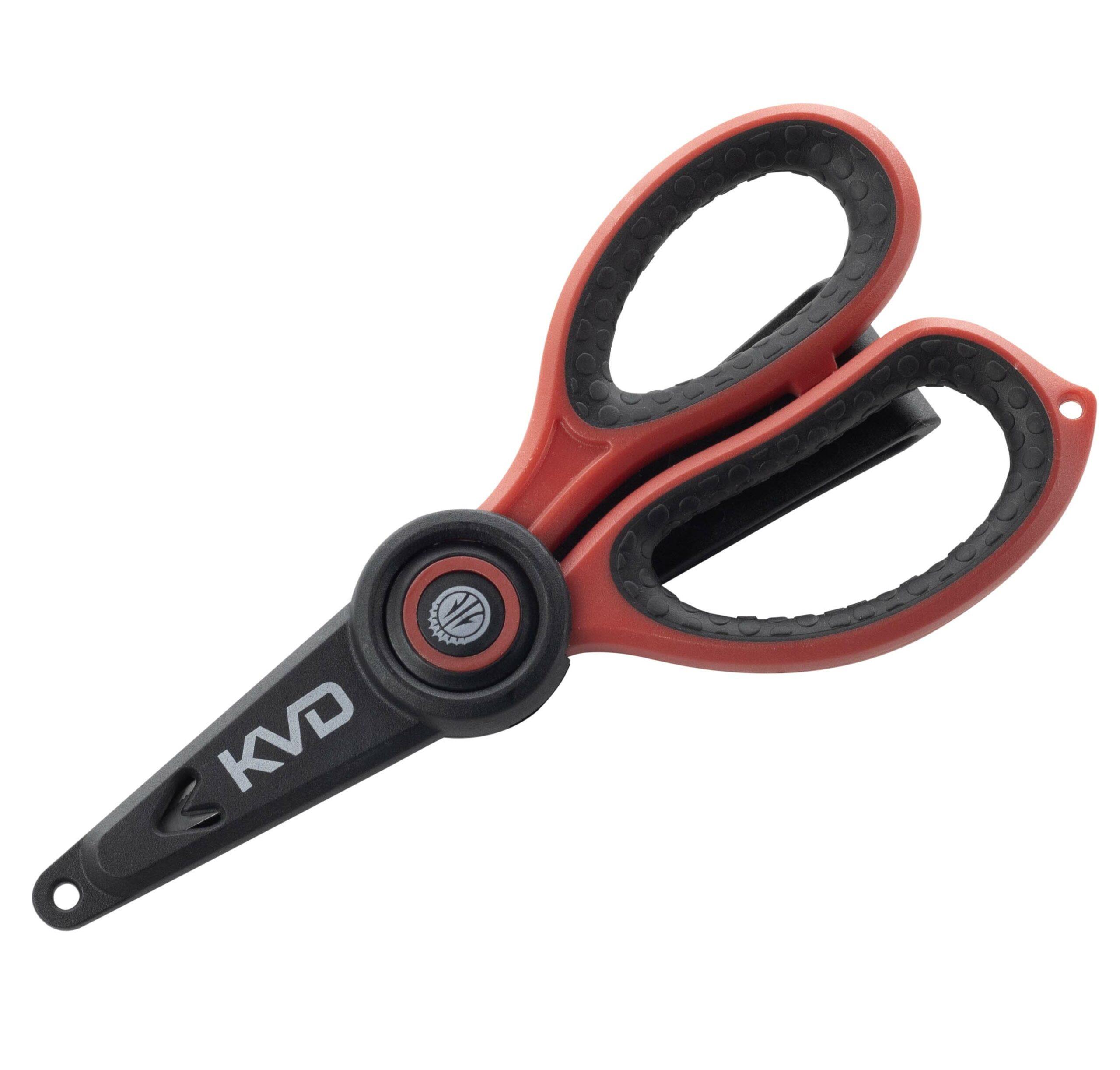Strike King – Tools – KVD 5″ Precision Braid Scissor – BS55KVD