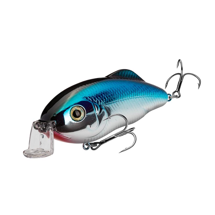 Strike King Lures – Crankbaits – Hybrid Hunter - HCHH-409 - Chrome Blue Back