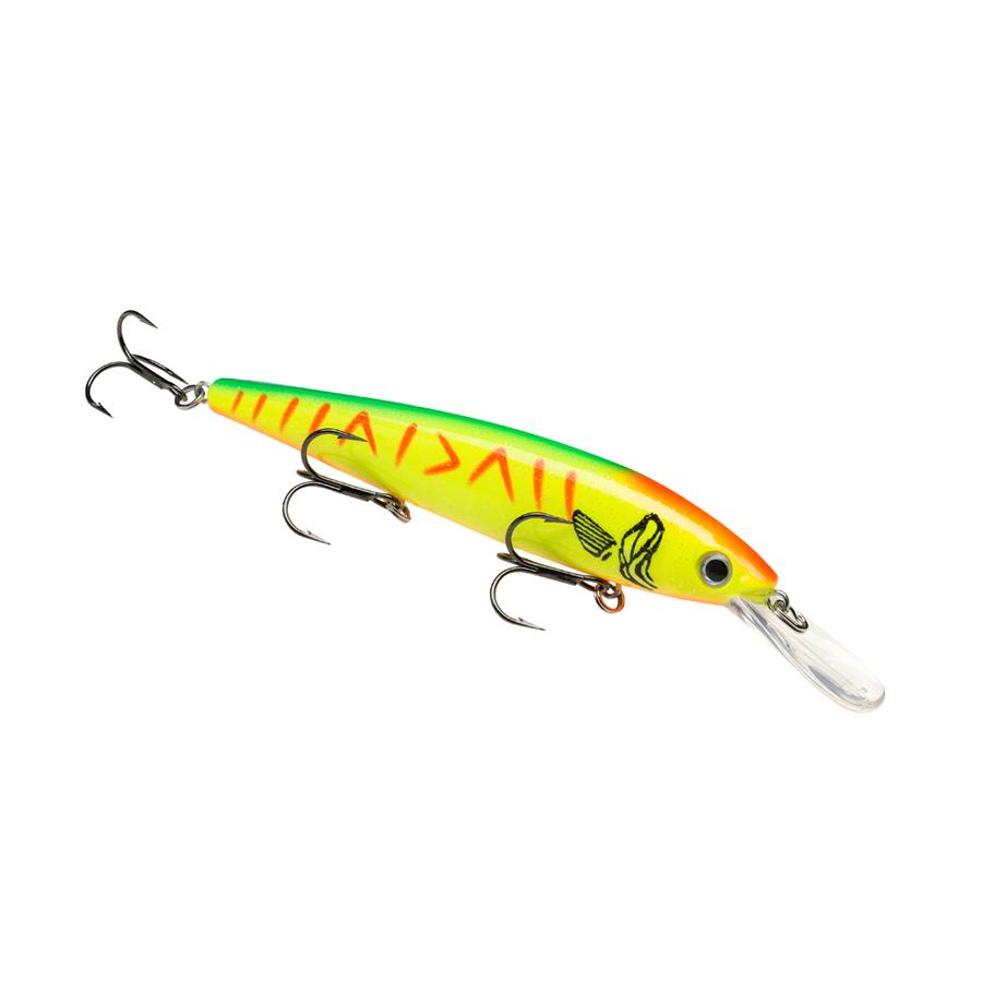 Strike King Lures – Jerkbaits – For Walleye – KVD Slash 300 Deep - HCKVDJ300DW-640 - Hot Tiger