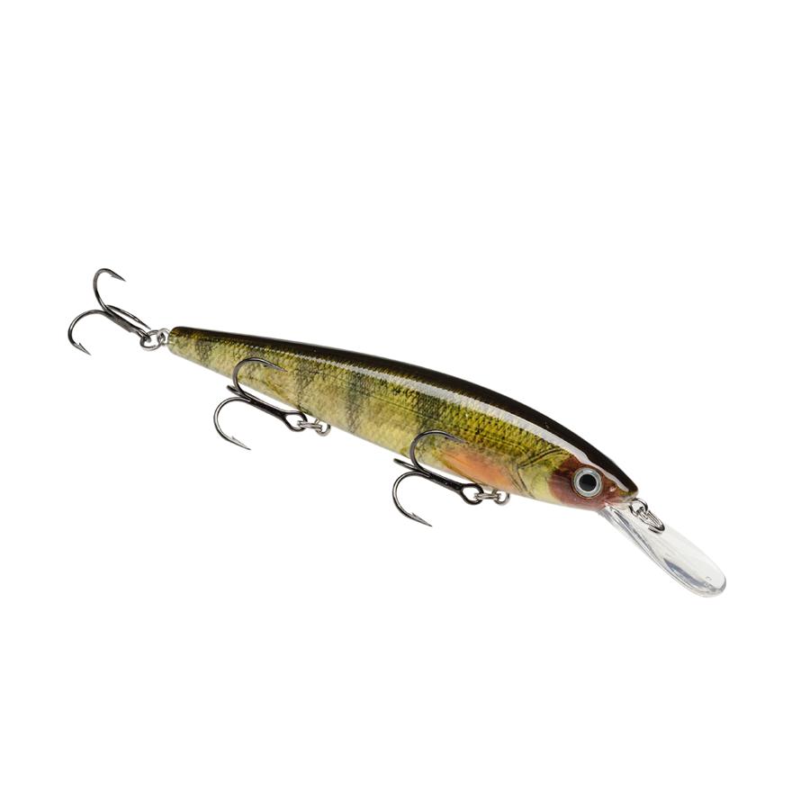 Strike King Lures – Jerkbaits – For Walleye – KVD Slash 300 Deep - HCKVDJ300DW-680 - Yellow Perch