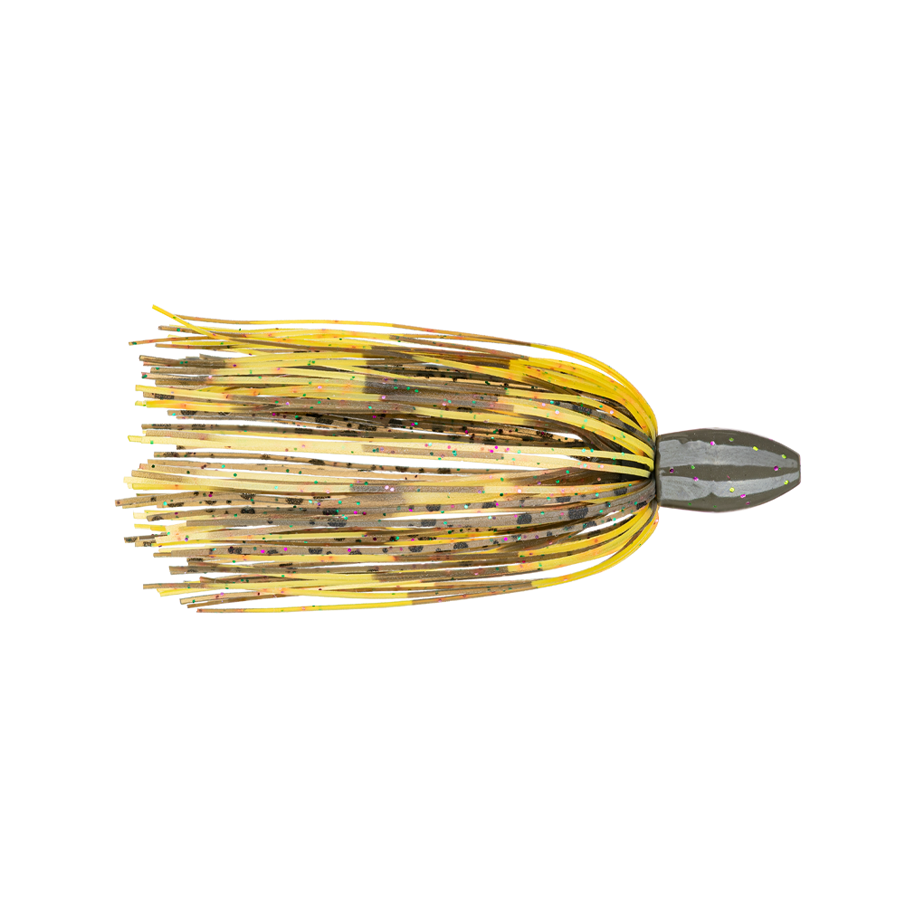 Strike King Fishing Weights – Tungsten – Skirted Slither Flipping Rig - 3/4oz - TGSLR34-130 - Candy Craw