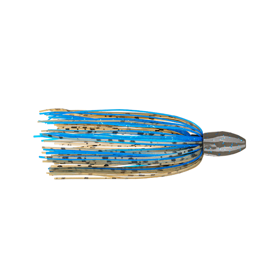 Strike King Fishing Weights – Tungsten – Skirted Slither Flipping Rig - 3/4oz - TGSLR34-50 - Okeechobee Craw