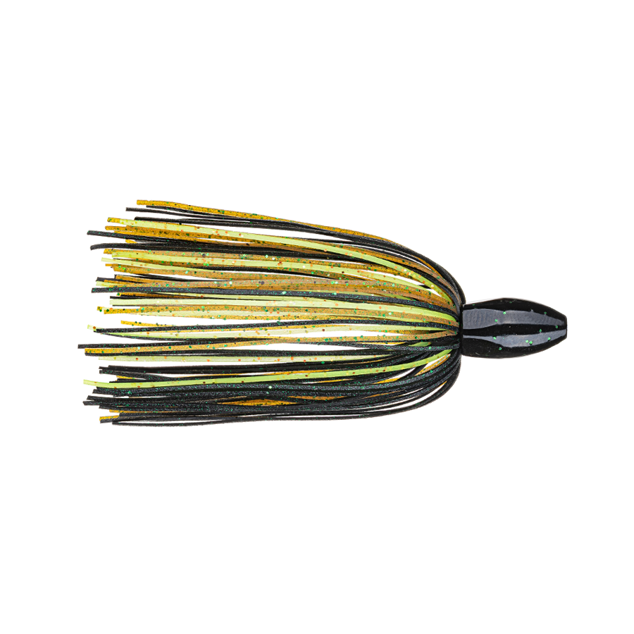 Strike King Fishing Weights – Tungsten – Skirted Slither Flipping Rig - 3/4oz - TGSLR34-8 - Texas Craw