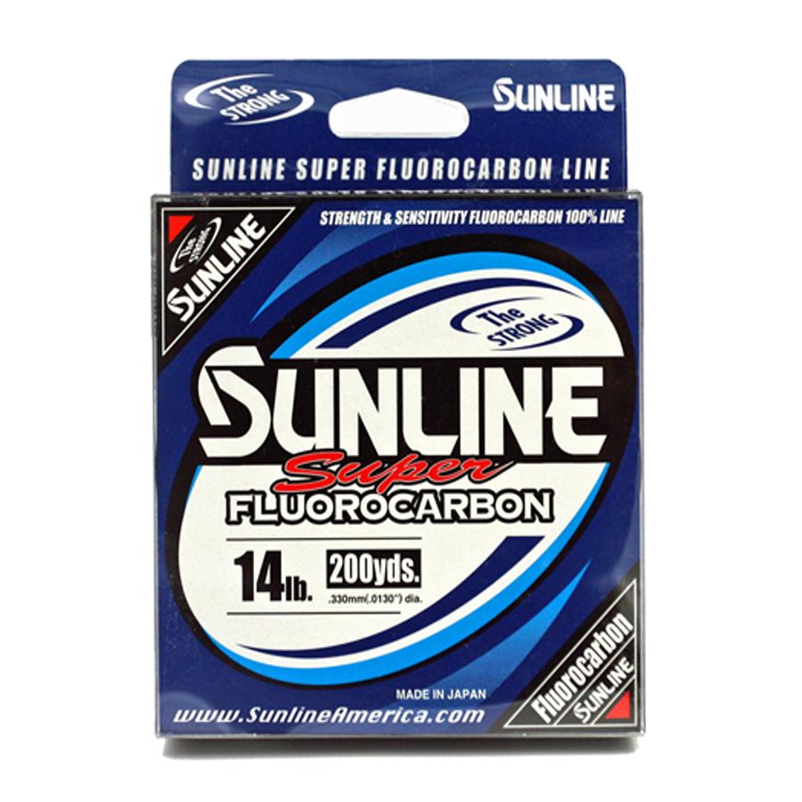 Sunline - Super Fluorocarbon - 200 YD - Super Fluorocarbon - 14 LB - Clear