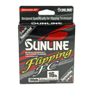 Sunline - Flipping FC - 200 YD - Flipping FC - 16 LB - Clear High Vis Yellow