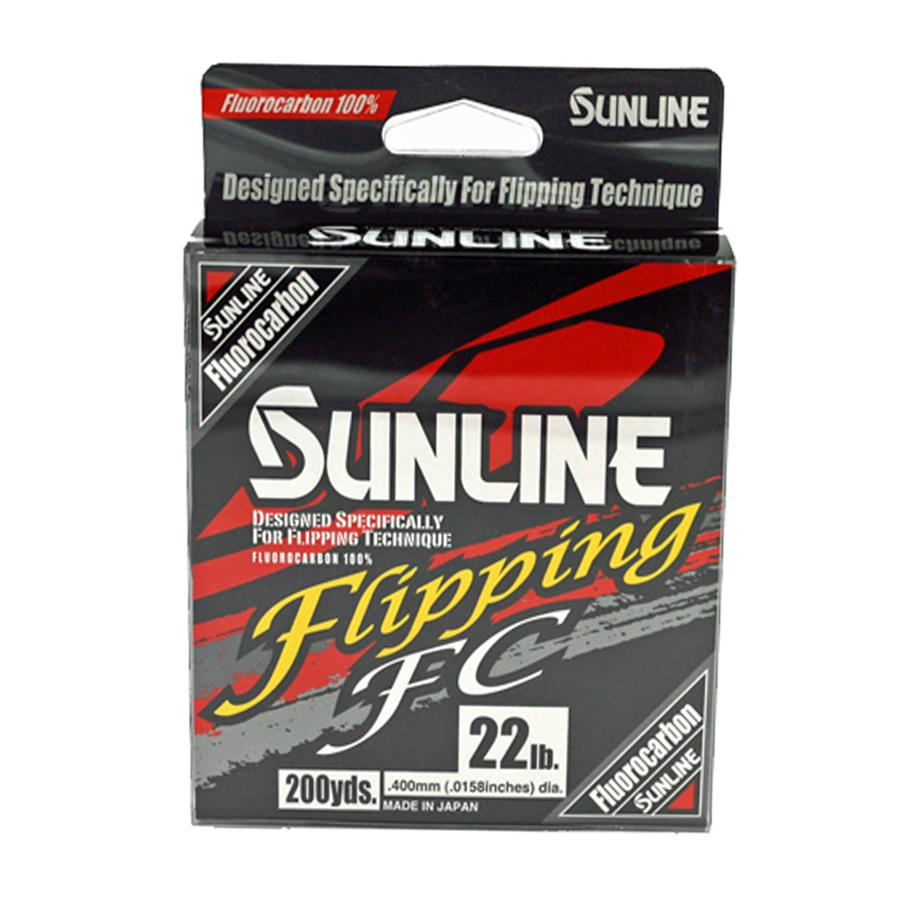 Sunline - Flipping FC - 200 YD - Flipping FC - 22 LB - Clear High Vis Yellow