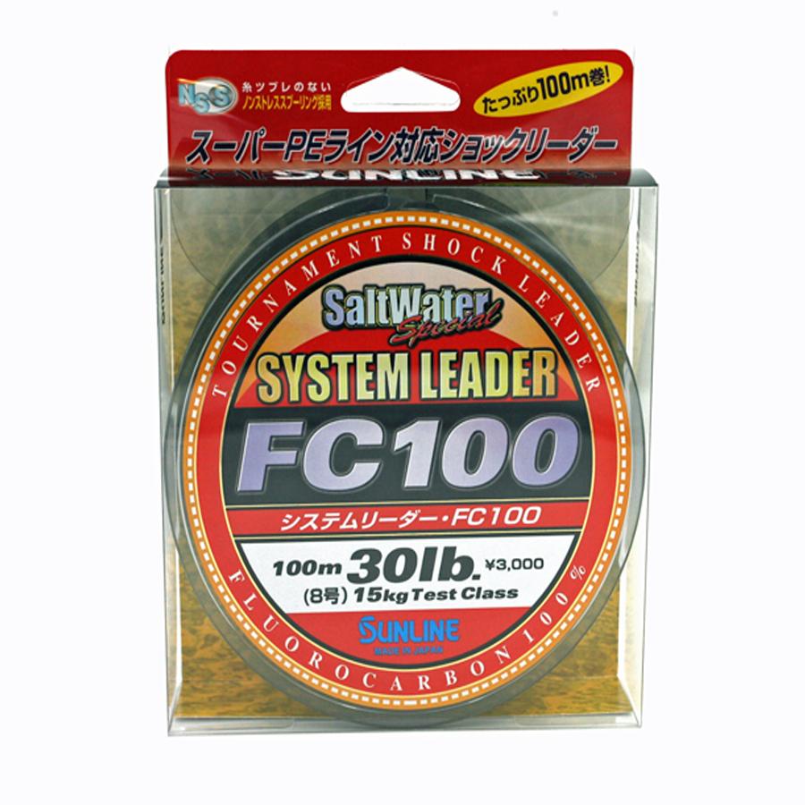 Sunline - SYSTEM LEADER FC 100 - 33 YD - SYSTEM LEADER - 30 LB - Clear