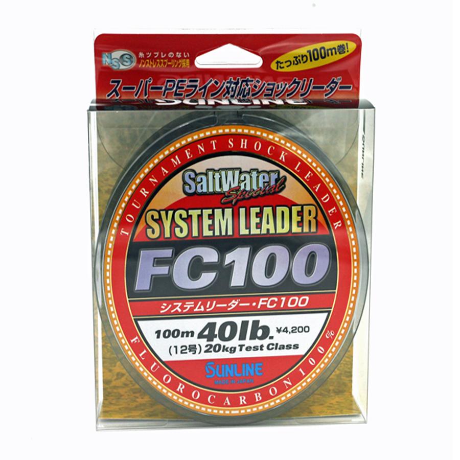 Sunline - SYSTEM LEADER FC 100 - 33 YD - SYSTEM LEADER - 40 LB - Clear