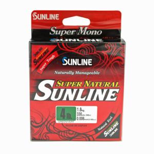 Sunline - Super Natural - 330 YD - Super Natural - 4 LB - Jungle Green