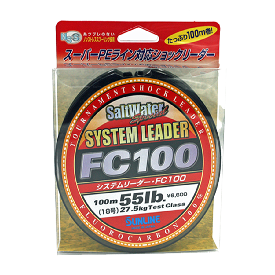 Sunline - SYSTEM LEADER FC 100 - 33 YD - SYSTEM LEADER - 55 LB - Clear