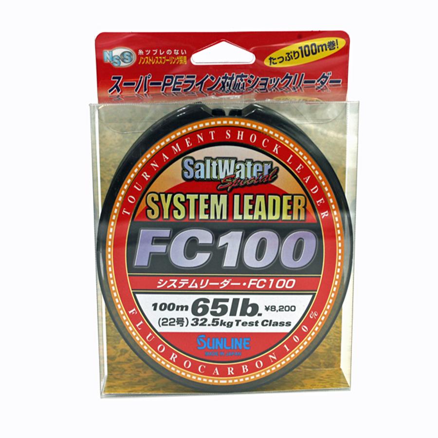 Sunline - SYSTEM LEADER FC 100 - 33 YD - SYSTEM LEADER - 65 LB - Clear