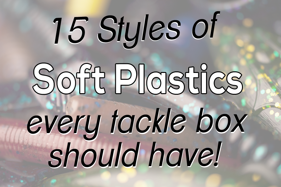 LOVE FISHING SOFT PLASTIC BAITS? – HERE'S 15 STYLES EVERY TACKLE BOX SHOULD HAVE!