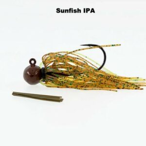 Missile Baits – Ike's Micro Football Jig – 1/8oz- MJMJ18-SIPA - Sunfish IPA