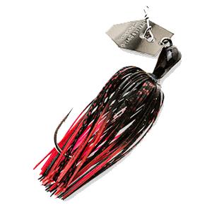 Z-MAN – Chatterbait – Elite – Bladed Vibrating Swim Jig – 1/2oz - CB-EL12-08 - BLACK RED