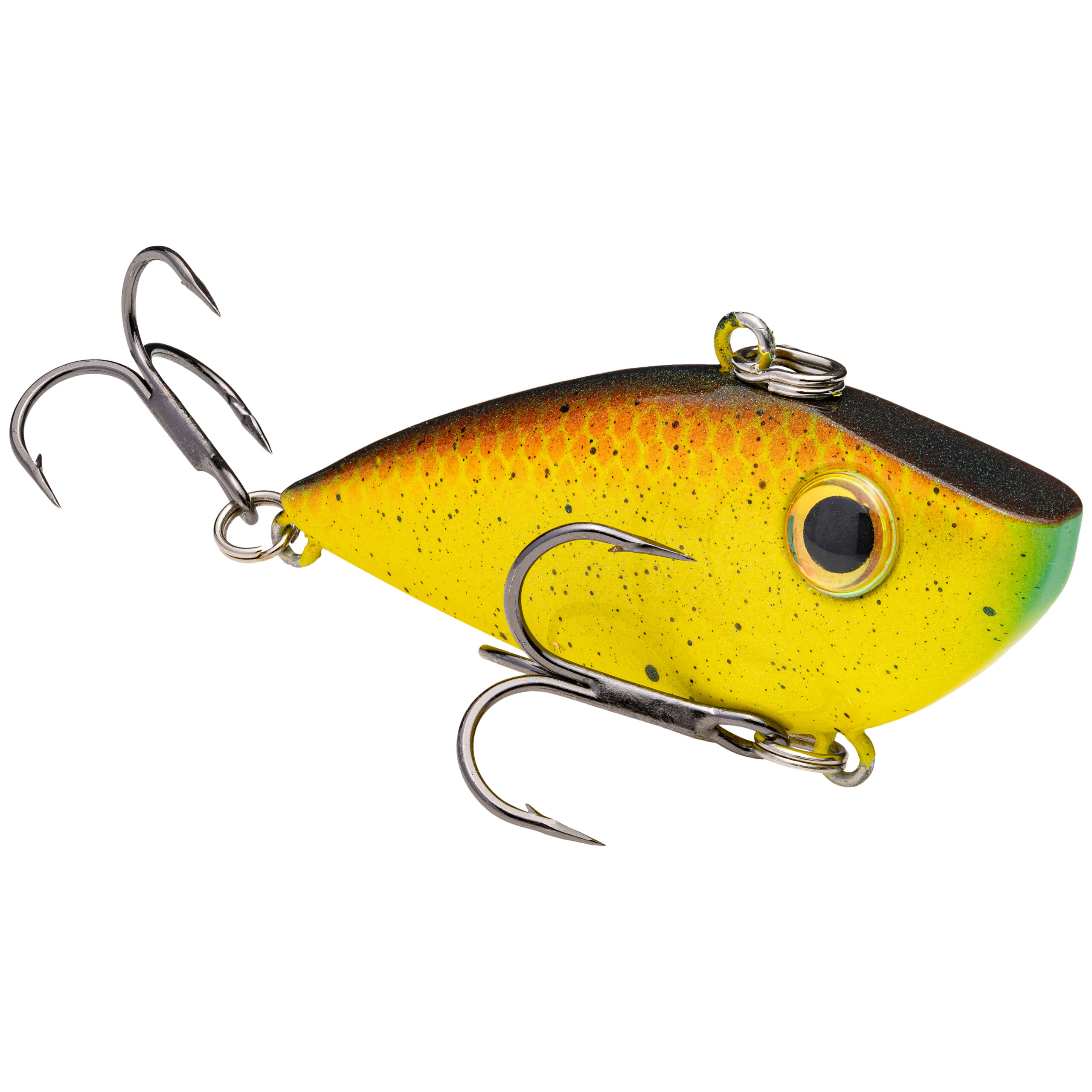 Strike King Lures – Crankbaits – Lipless Rattle Trap – Red Eyed Shad - 1/4oz - REYESD14-467 - Bully