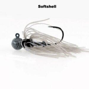 Missile Baits – Ike's Micro Football Jig – 3/8oz - MJMJ38-SFSL - Softshell