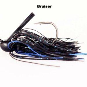Missile Baits – Ike's Flip Out Jig – 3/4oz - MJFO34-BRU - Bruiser