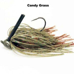 Missile Baits – Ike's Head Banger Jig - 3/4oz - MJHB34-CNGR - Candy Grass