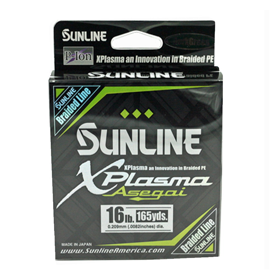 Sunline - Xplasma Asegai - 165 YD - Xplasma Asegai - 16LB - Dark Green