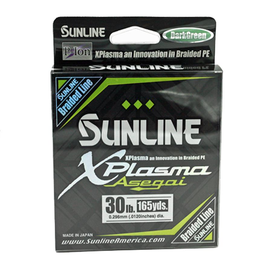 Sunline - Xplasma Asegai - 165 YD - Xplasma Asegai - 30LB - Dark Green