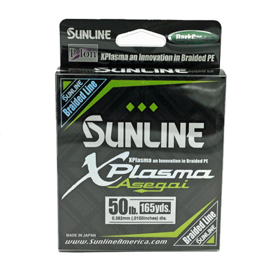 Sunline - Xplasma Asegai - 165 YD - Xplasma Asegai - 50LB - Dark Green