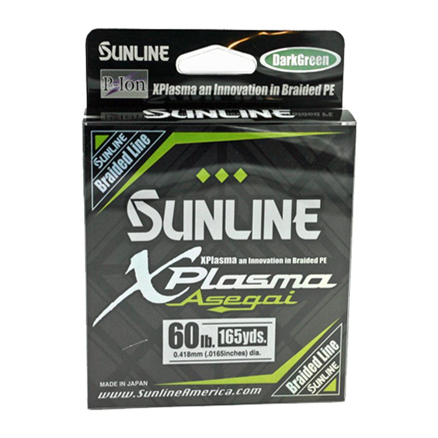 Sunline - Xplasma Asegai - 165 YD - Xplasma Asegai - 60LB - Dark Green