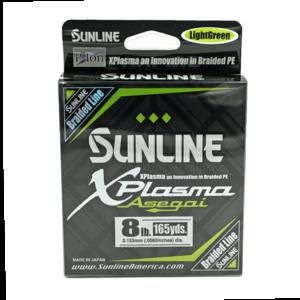 Sunline - Xplasma Asegai - 165 YD - Xplasma Asega - 8LB - Light Green