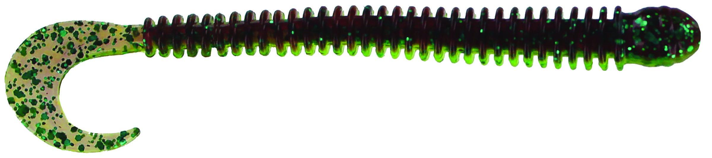 Big Bite Baits - Disc Ring Worm - 4 inch - RW-423 - SOUR GRAPE