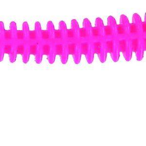 Big Bite Baits - Disc Ring Worm - 4 inch - RW-432 - BUBBLE GUM CHART TAIL