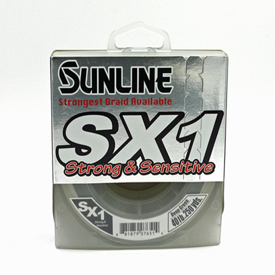 Sunline - SX1 - 250 YD - SX1 - 40 LB - Deep Green