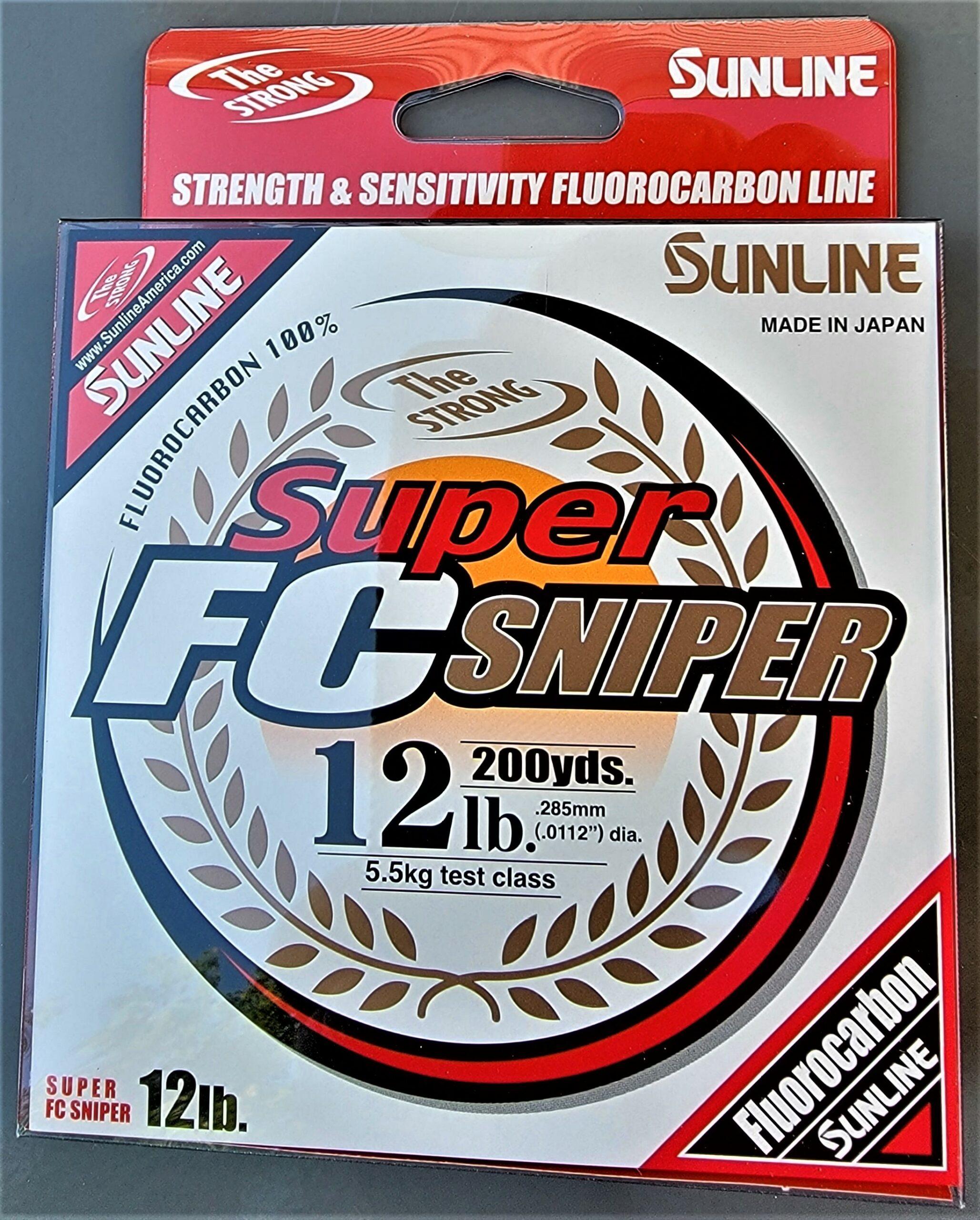 Sunline - Super FC Sniper - 200 YD - Super FC Sniper - 12 LB - Natural Clear
