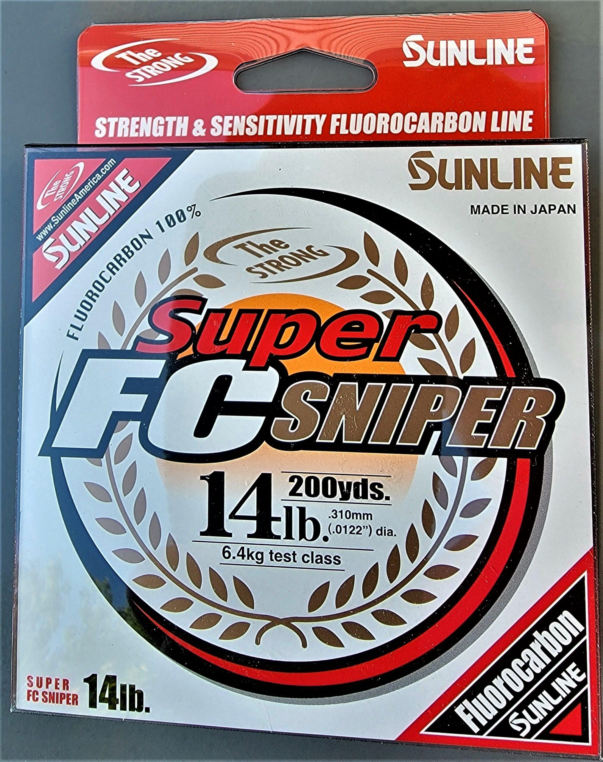 Sunline - Super FC Sniper - 200 YD - Super FC Sniper - 14 LB - Natural Clear