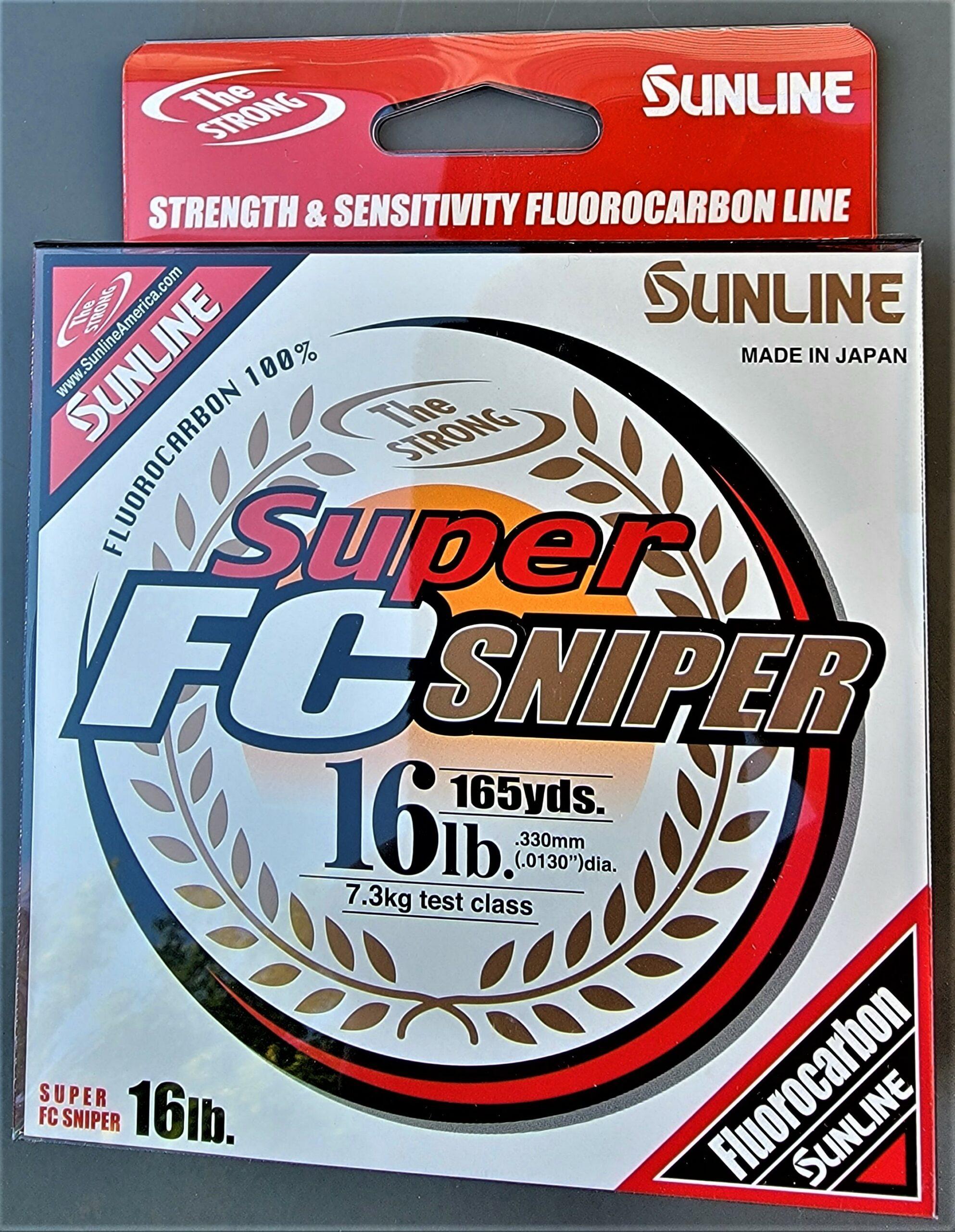Sunline - Super FC Sniper - 165 YD - Super FC Sniper - 16 LB - Natural Clear