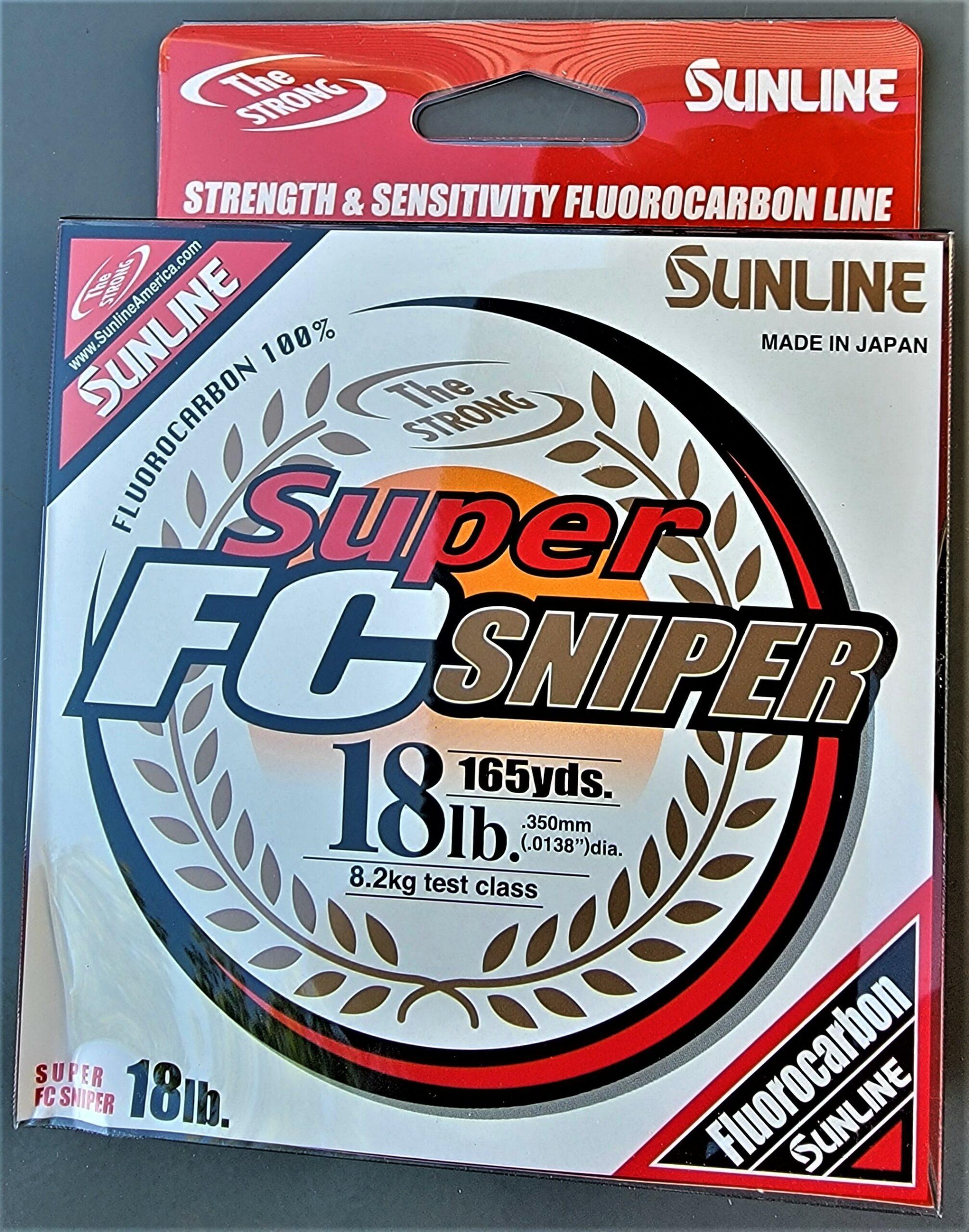 Sunline - Super FC Sniper - 165 YD - Super FC Sniper - 18 LB - Natural Clear