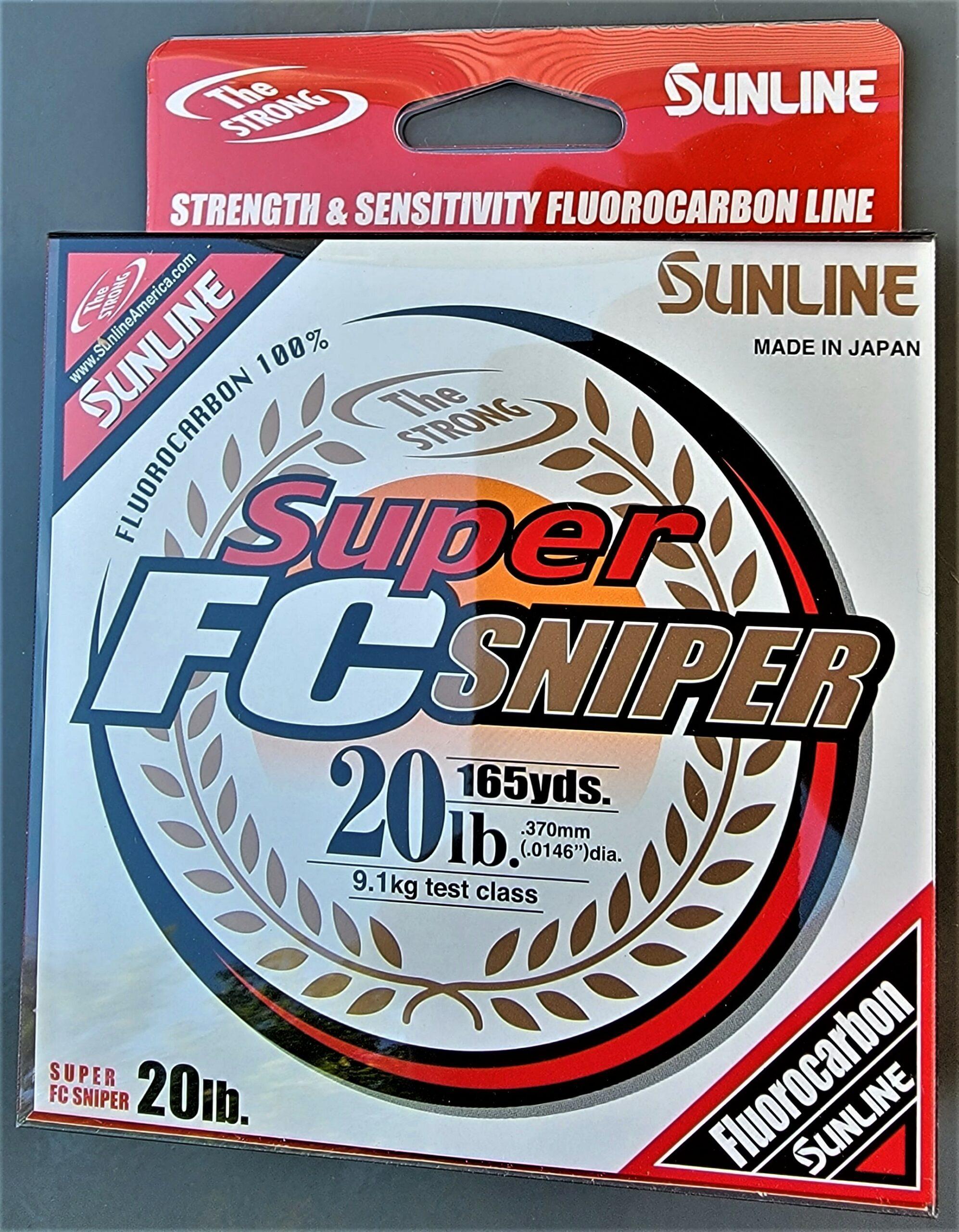 Sunline - Super FC Sniper - 165 YD - Super FC Sniper - 20 LB - Natural Clear