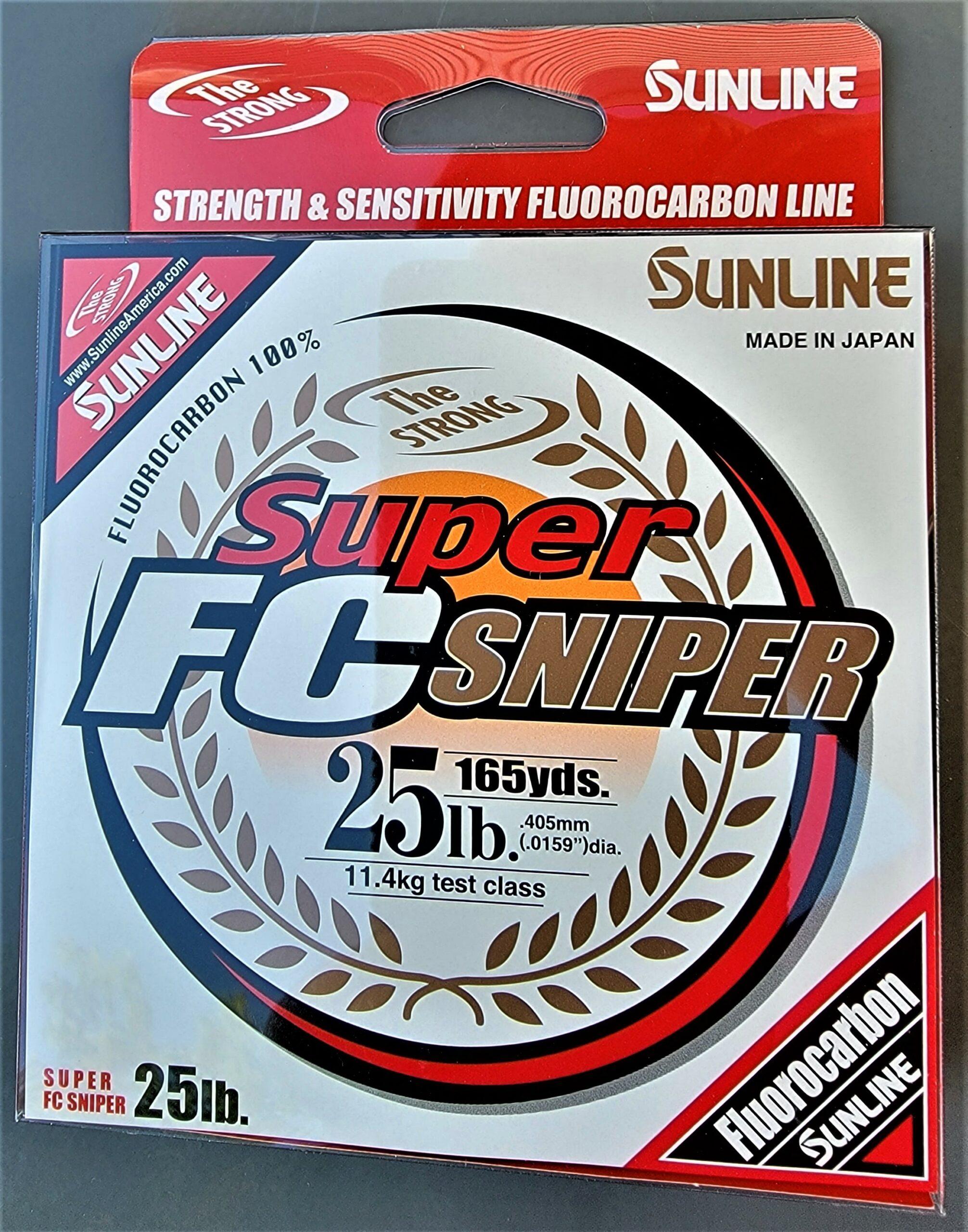Sunline - Super FC Sniper - 165 YD - Super FC Sniper - 25 LB - Natural Clear