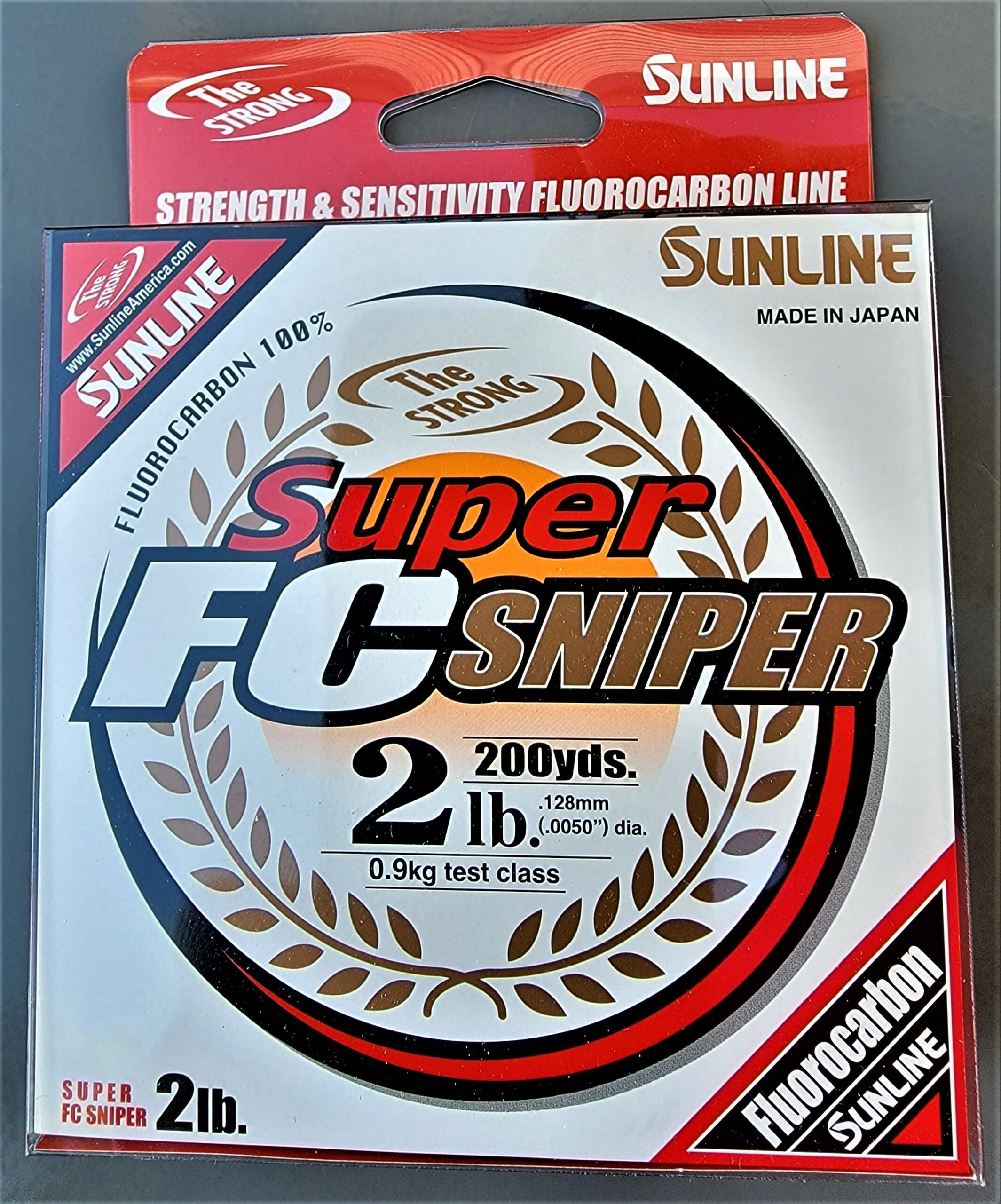 Sunline - Super FC Sniper - 200 YD - Super FC Sniper - 2 LB - Natural Clear