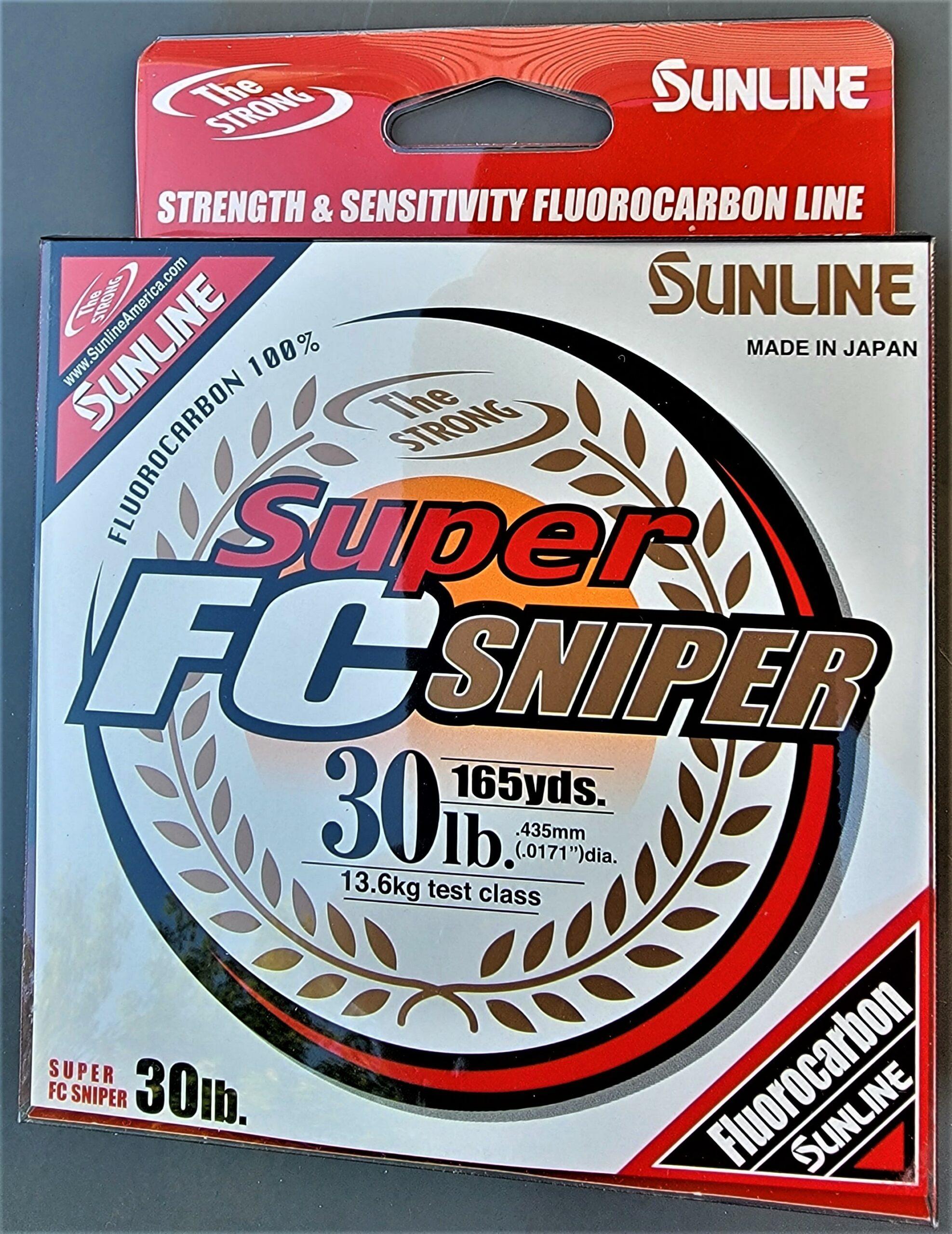 Sunline - Super FC Sniper - 165 YD - Super FC Sniper - 30 LB - Natural Clear