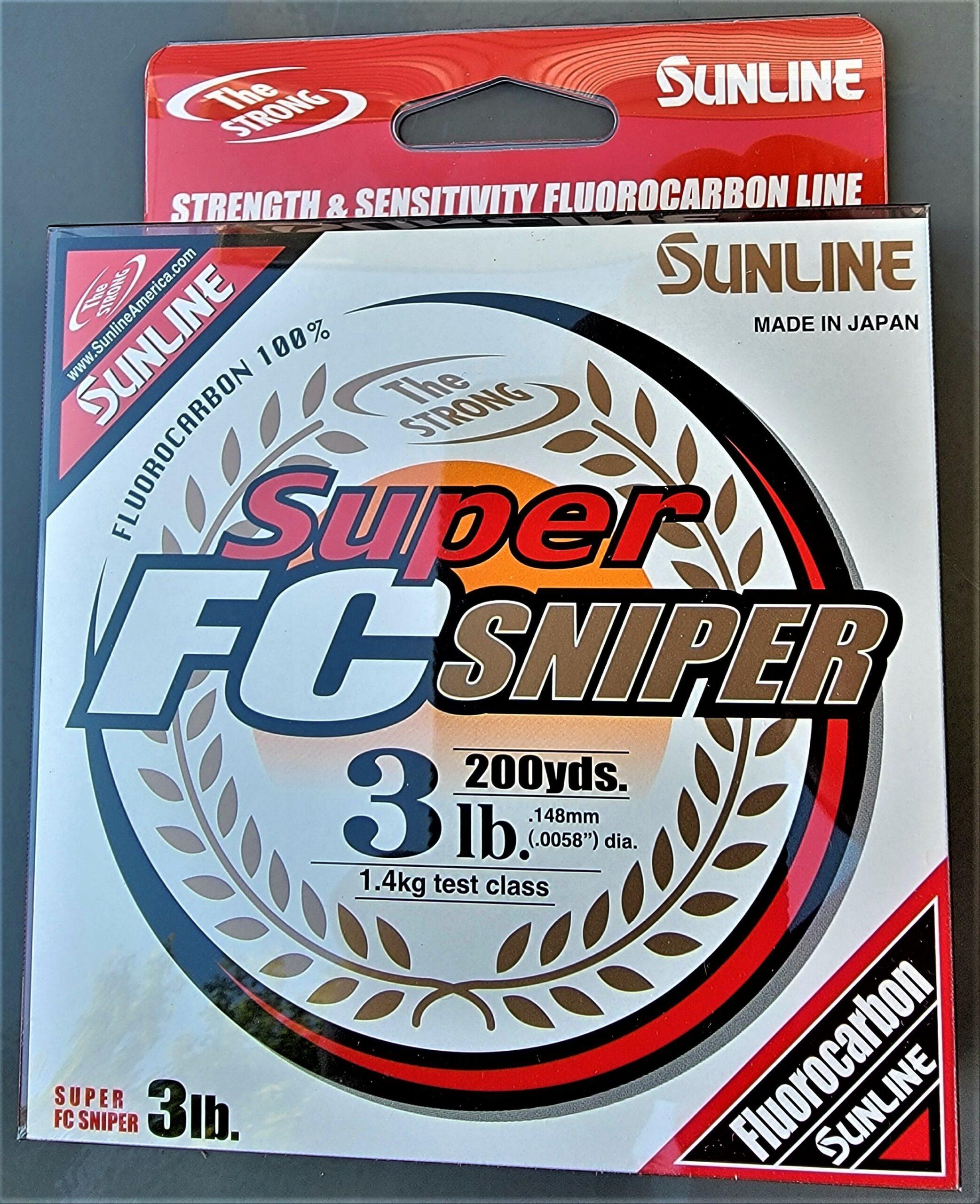 Sunline - Super FC Sniper - 200 YD - Super FC Sniper - 3 LB - Natural Clear