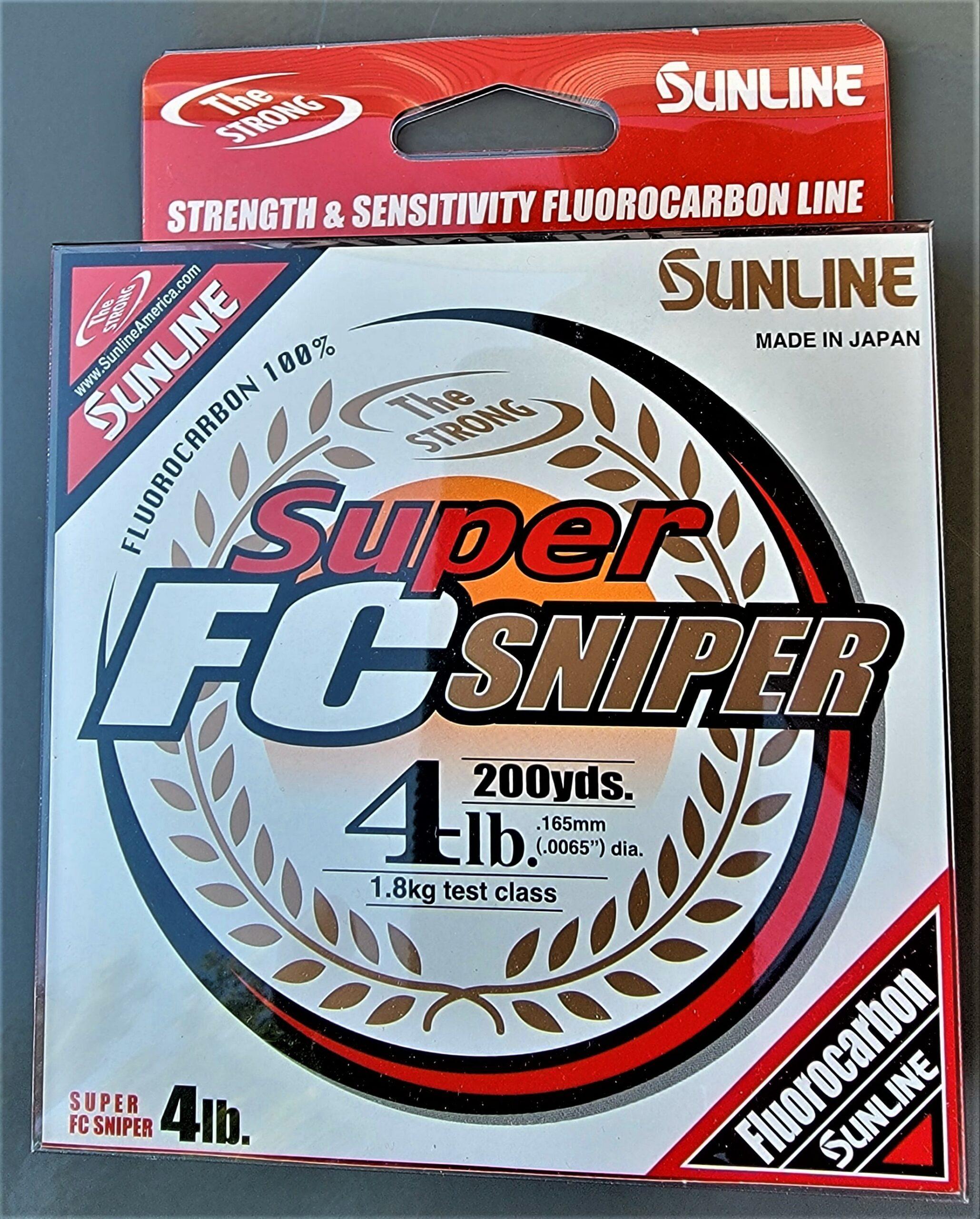 Sunline - Super FC Sniper - 200 YD - Super FC Sniper - 4 LB - Natural Clear