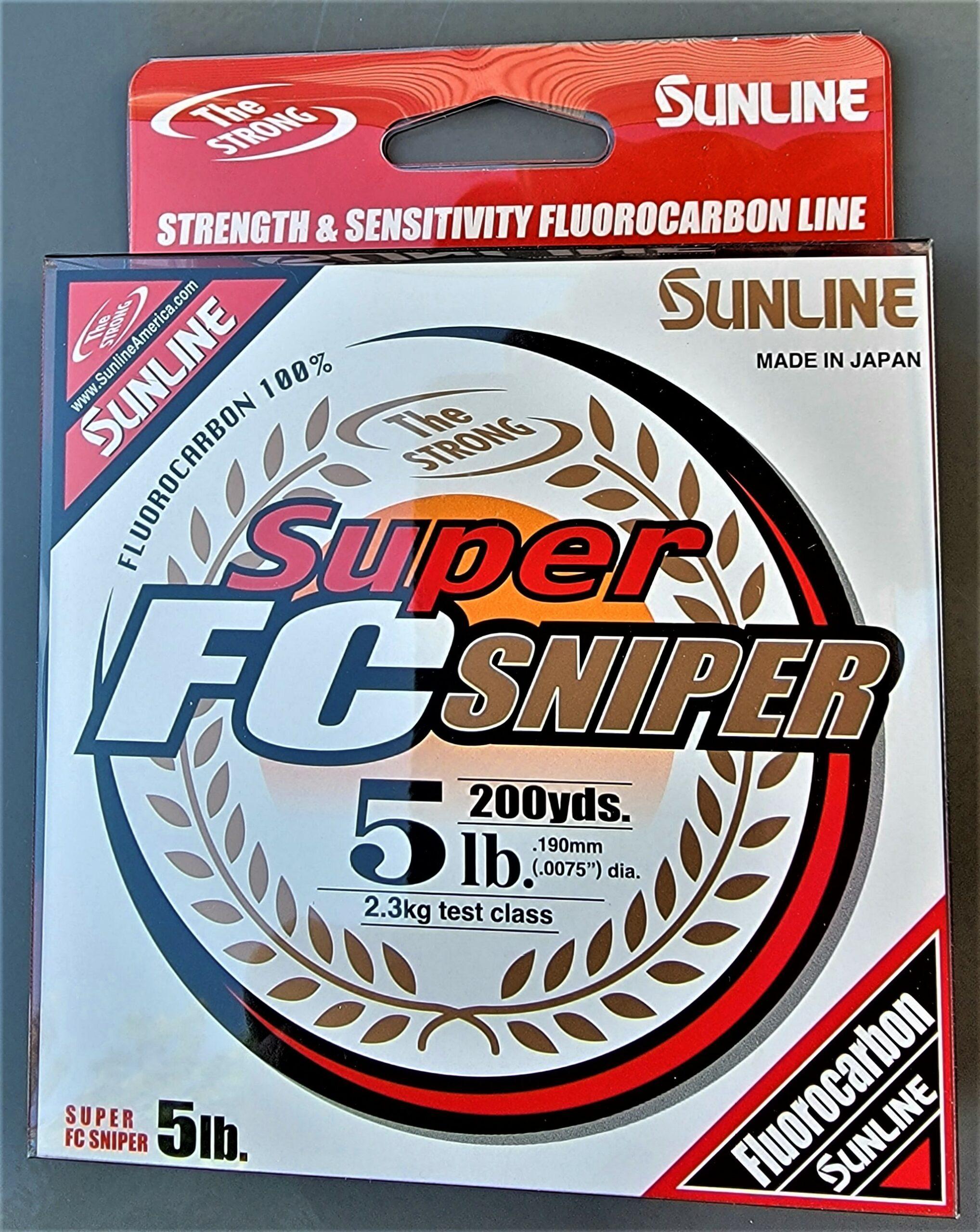 Sunline - Super FC Sniper - 200 YD - Super FC Sniper - 5 LB - Natural Clear