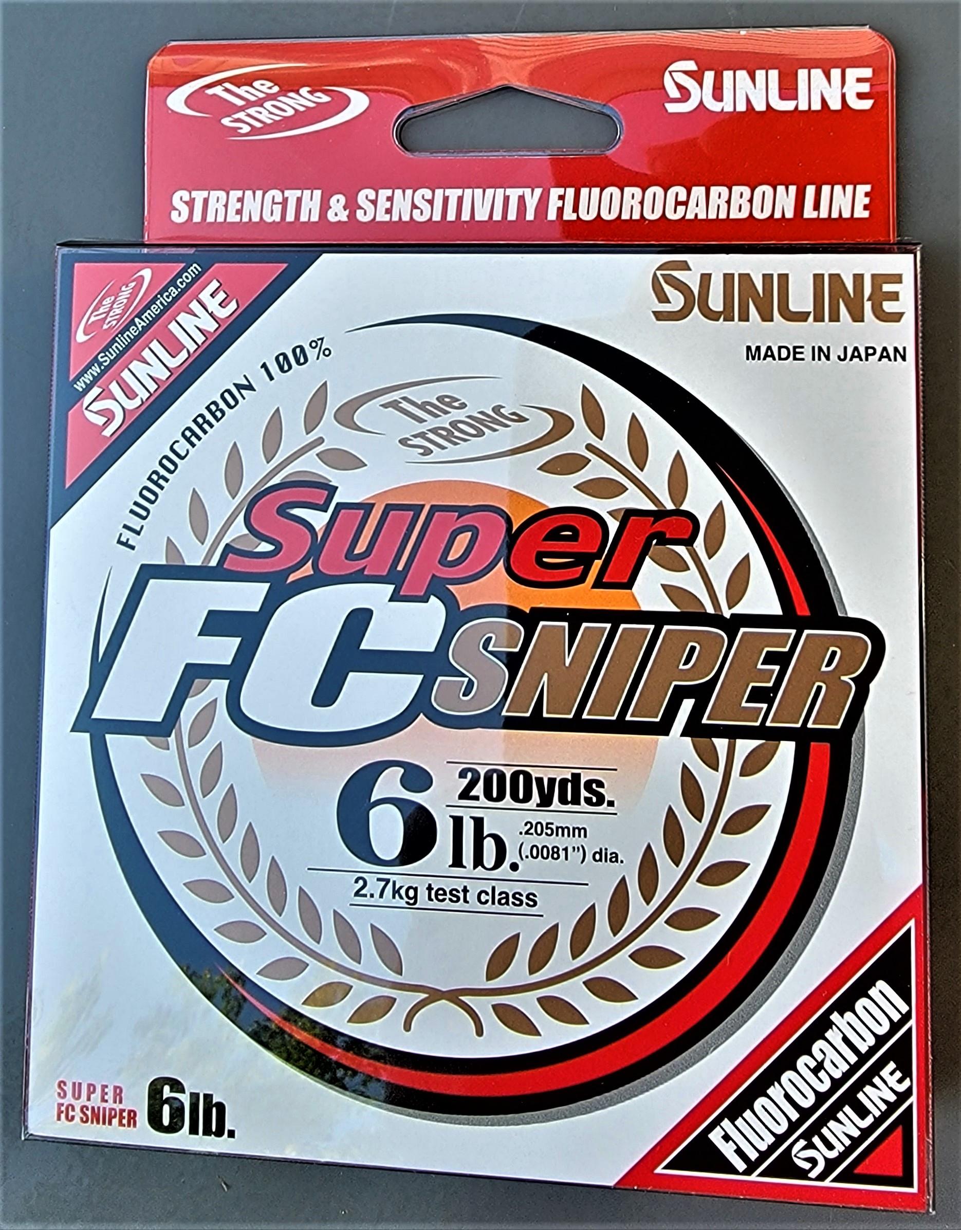 Sunline - Super FC Sniper - 200 YD - Super FC Sniper - 6 LB - Natural Clear