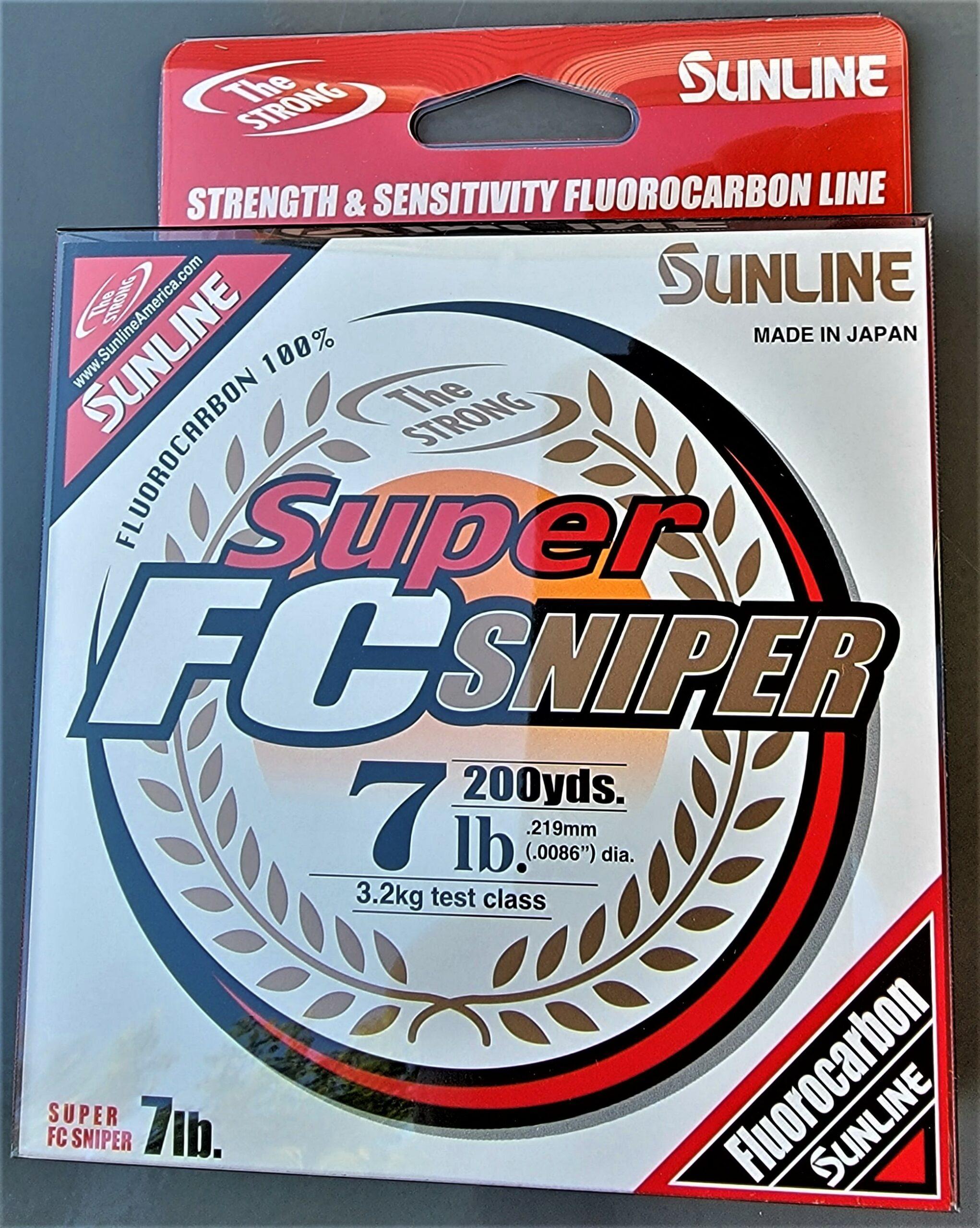 Sunline - Super FC Sniper - 200 YD - Super FC Sniper - 7 LB - Natural Clear