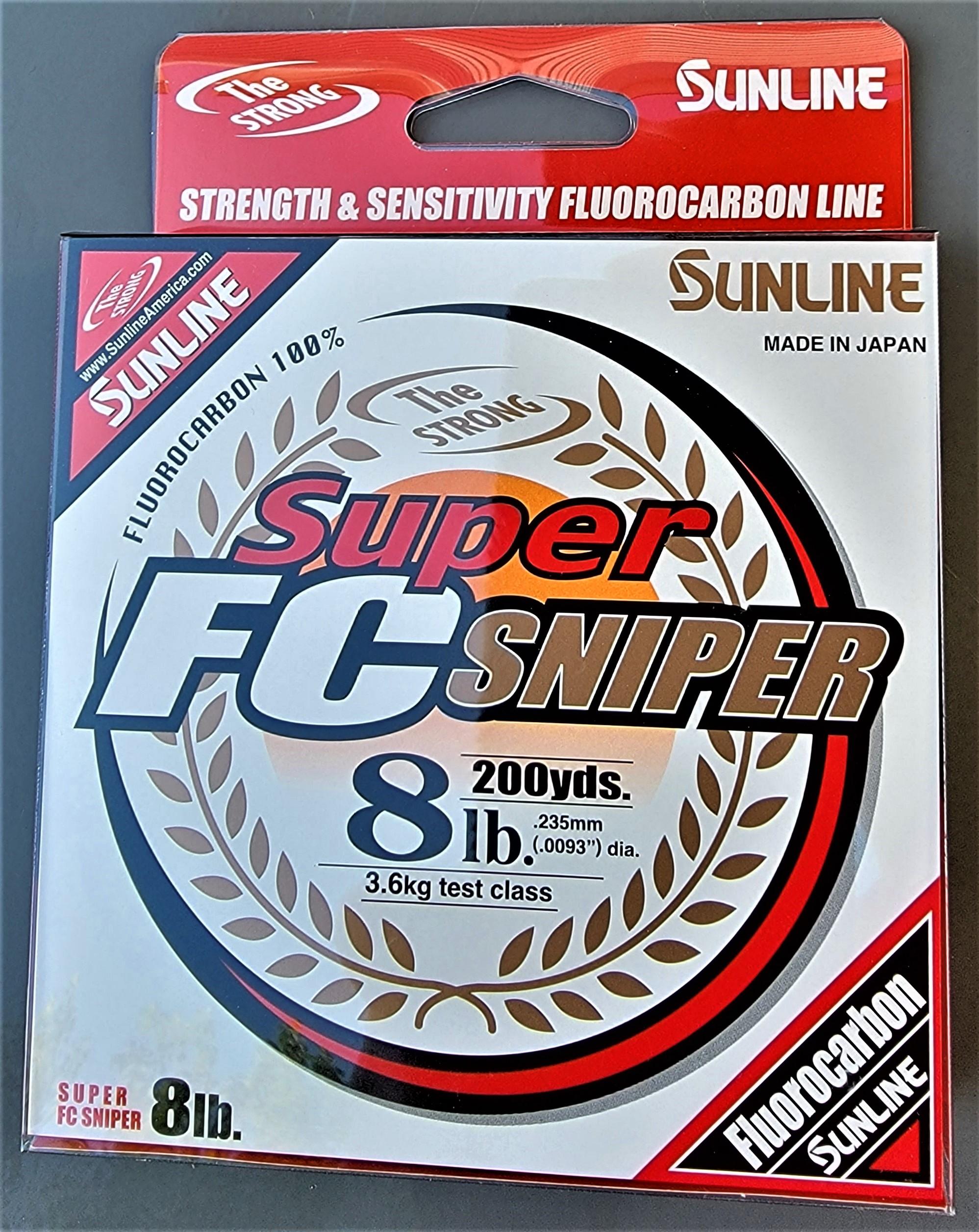 Sunline - Super FC Sniper - 200 YD - Super FC Sniper - 8 LB - Natural Clear